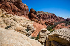 Rock formations in Southwest United States Royalty Free Stock Photography