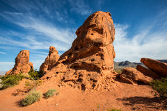 Rock formations in Southwest United States Stock Images