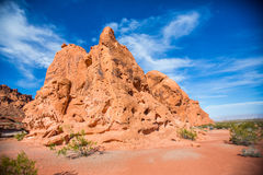 Rock formations in Southwest United States Royalty Free Stock Image