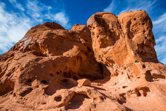Rock formations in Southwest United States Stock Photo