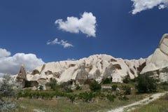 Rock Formations in Swords Valley, Cappadocia Stock Images