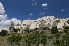 Rock Formations in Swords Valley, Cappadocia Royalty Free Stock Images