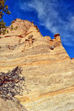 Rock Formations at Tent Rocks Stock Photo