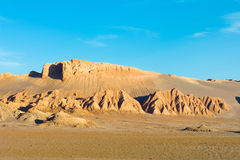 Rock formations at Valle de la Luna. (Moon Valley), San Pedro de Atacama, Atacama Desert, Chile Stock Photography
