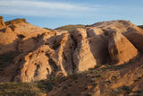 Rock Formations in the Valley of Fire Royalty Free Stock Images