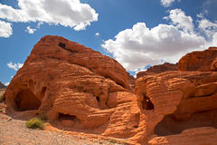 Rock formations Valley of fire Stock Photography