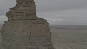 Rock Formations in Western Colorado stock video footage
