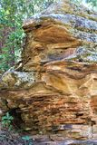 Rock Formations at Woods Canyon Lake, Coconino County, Arizona, United States. Scenic landscape rock formations at Woods Canyon Lake during the summer in Stock Image