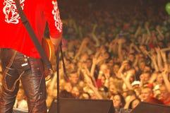 rock för 2 konsert Fotografering för Bildbyråer