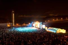 rock för 7 konsert Royaltyfri Foto