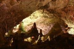 rock för carlsbad cavernsbildande Arkivfoton