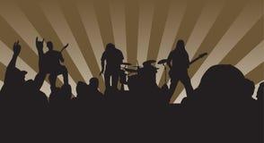 rock för konsert n Arkivbild