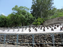 The Rock Garden of Chandigarh, India Royalty Free Stock Images