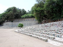 The Rock Garden of Chandigarh, India Stock Image