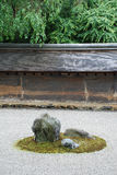 Rock Garden, Ryoanji Temple Royalty Free Stock Photo
