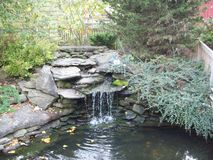 Rock Garden Waterfall Stock Photos