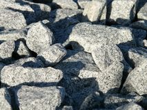 Rock, Geology, Material, Cobblestone royalty free stock photo
