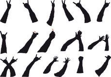 Rock gestures Stock Photography