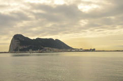 The Rock of Gibraltar Stock Photos
