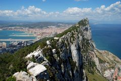 The Rock, Gibraltar. Royalty Free Stock Photography