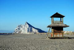 Rock of Gibraltar. Royalty Free Stock Photography
