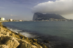 Rock of Gibraltar Royalty Free Stock Image