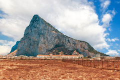 The rock of Gibraltar Royalty Free Stock Images
