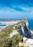 Rock of Gibraltar Royalty Free Stock Photo