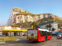 Rock of Gibraltar Royalty Free Stock Photography