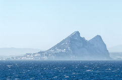Rock of Gibraltar Stock Photography