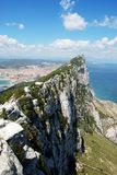 The Rock of Gibraltar. Royalty Free Stock Image