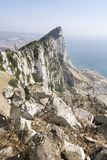 The Rock of Gibraltar nr Southern Spain. The Rock of Gibraltar near Southern Spain Royalty Free Stock Image