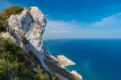 The rock of Gibraltar Stock Photo