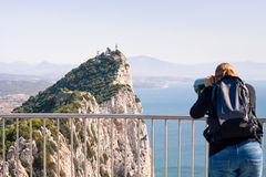 Rock of Gibraltar Royalty Free Stock Photo