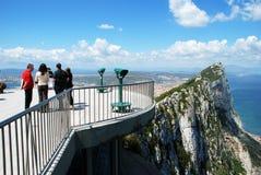 The Rock of Gibraltar. Stock Photo