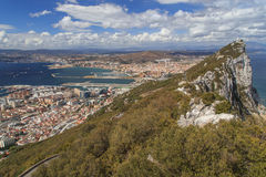 Rock of Gibraltar Stock Image