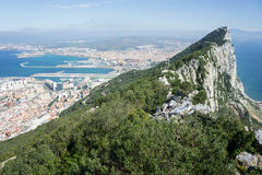 The Rock in Gibraltar Stock Photo
