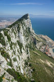 The Rock in Gibraltar Royalty Free Stock Images