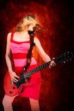 Rock girl Stock Photos