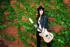 Rock girl Stock Photo