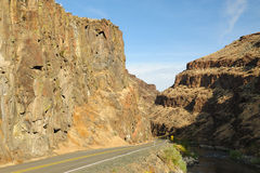 Rock gorge stock photos