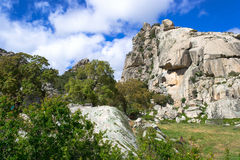 Rock and granite mountains Royalty Free Stock Image