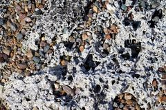 Rock and Gravel Stock Image