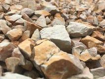 Rock, Gravel, Rubble, Material stock photo