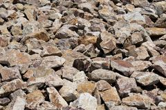 Rock ground cover in Arizona royalty free stock image