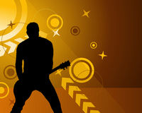 Rock group stock images