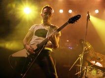 Rock group - Golden Dawn Royalty Free Stock Photos