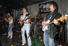 Rock group Smoki. Popular Rock group Smokie and Alan Silson Stock Images