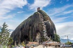 Rock of Guatape, Piedra de Penol, Colombia Royalty Free Stock Photos