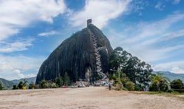 Rock of Guatape, Piedra de Penol, Colombia Royalty Free Stock Image